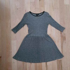 ASOS Women's Gray Skater Dress size M